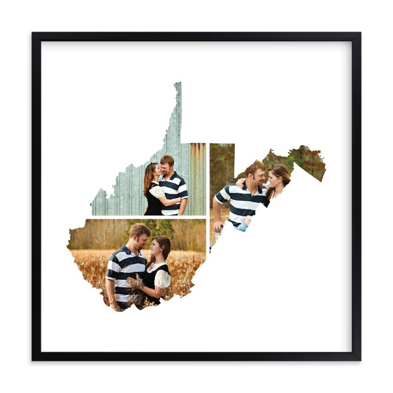 """""""West Virginia Love Location"""" - Custom Photo Art Print by Heather Buchma in beautiful frame options and a variety of sizes."""