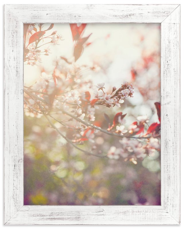 """Wild Cherry"" - Art Print by Smile Peace Love in beautiful frame options and a variety of sizes."