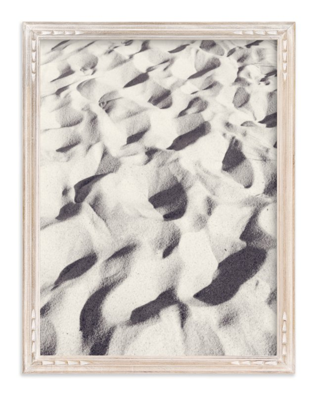 """Sand Wave"" - Limited Edition Art Print by Qing Ji in beautiful frame options and a variety of sizes."