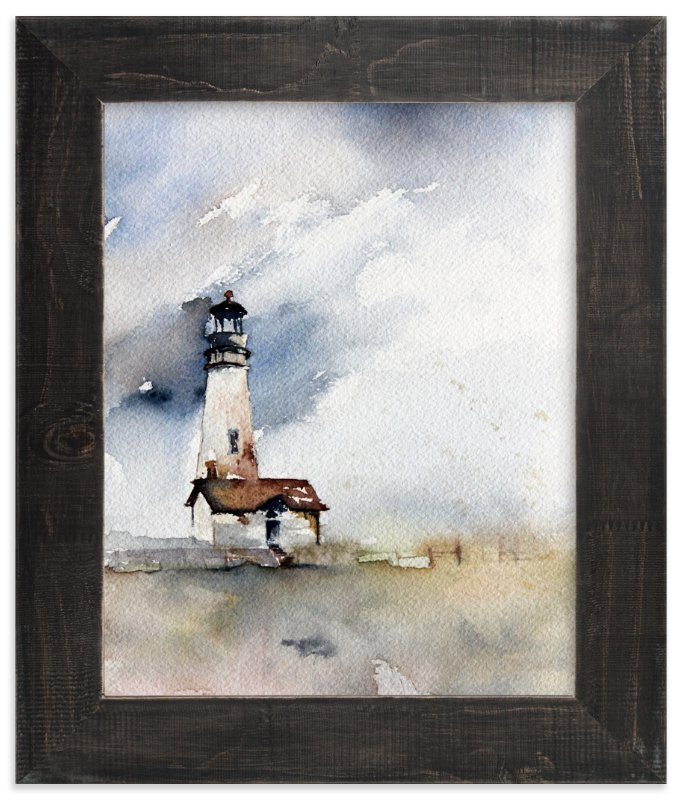 """""""Solitary Watch"""" - Art Print by Karen Kaul in beautiful frame options and a variety of sizes."""