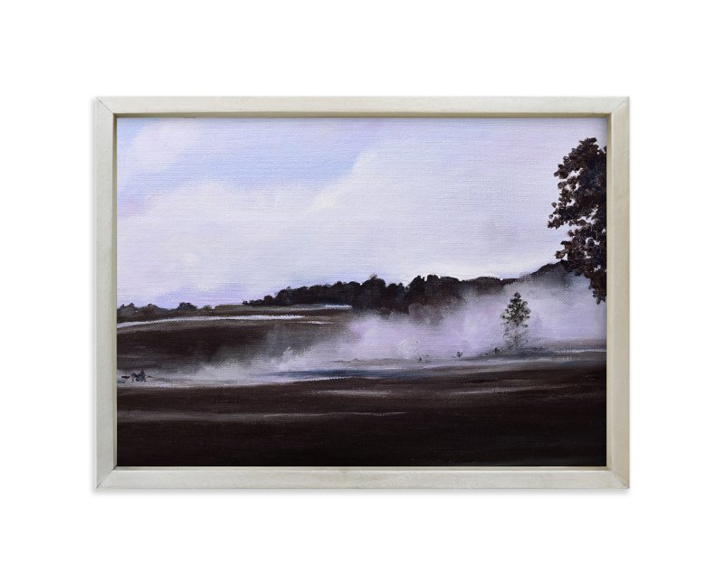 """Chandler Farm"" - Art Print by Emma Ballou in beautiful frame options and a variety of sizes."