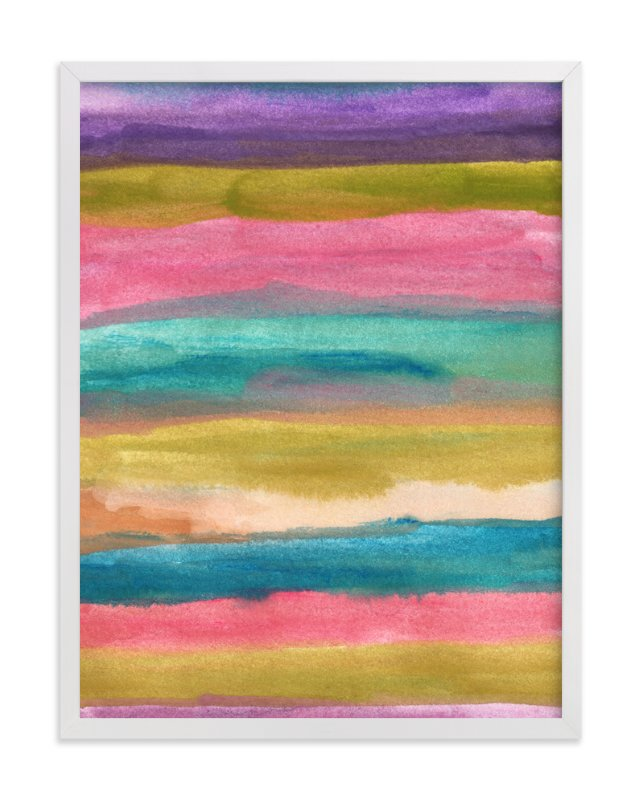 """""""painted abstract1"""" - Art Print by aticnomar in beautiful frame options and a variety of sizes."""