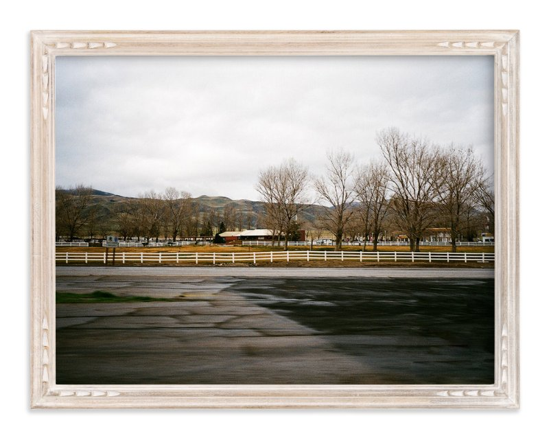 """On the Road"" - Art Print by Cade Cahalan in beautiful frame options and a variety of sizes."