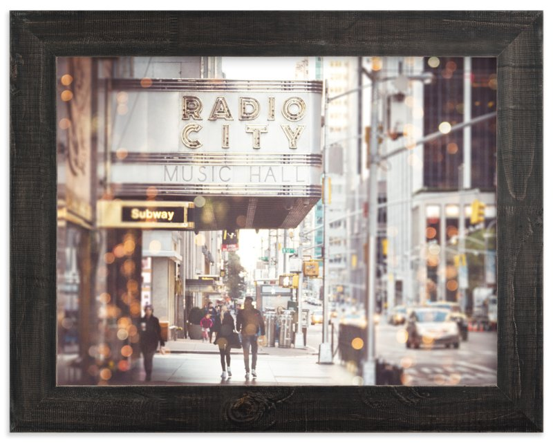 """Radio City Dream"" - Art Print by Pockets of Film in beautiful frame options and a variety of sizes."