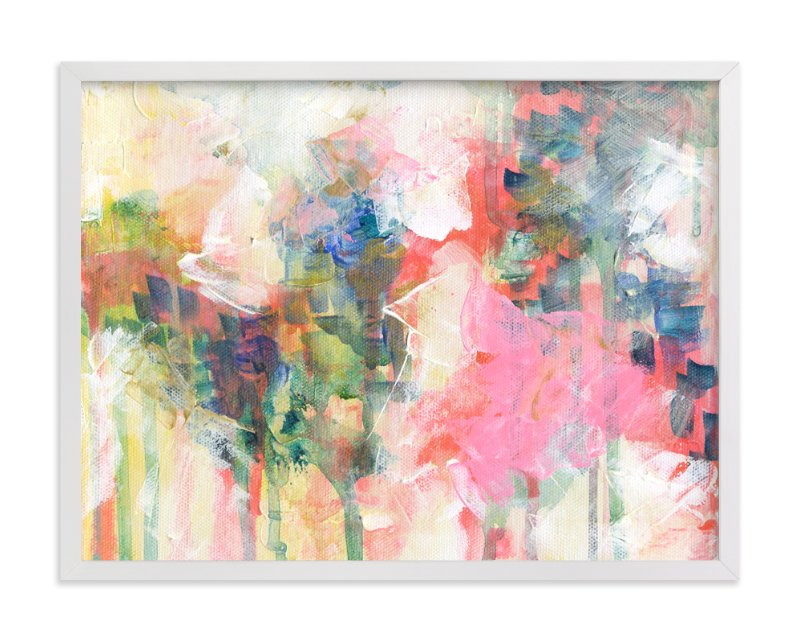 """Carnation Spray"" - Art Print by 2birdstone in beautiful frame options and a variety of sizes."