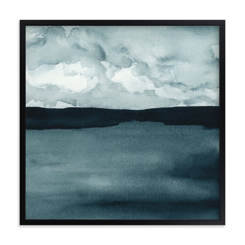 """""""A Hushed Evening"""" - Limited Edition Art Print by Renee Anne in beautiful frame options and a variety of sizes."""