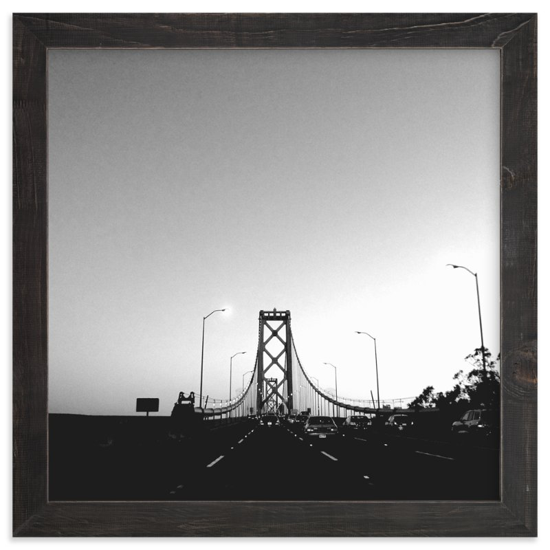 """The Commute"" - Art Print by Christopher Morben in beautiful frame options and a variety of sizes."