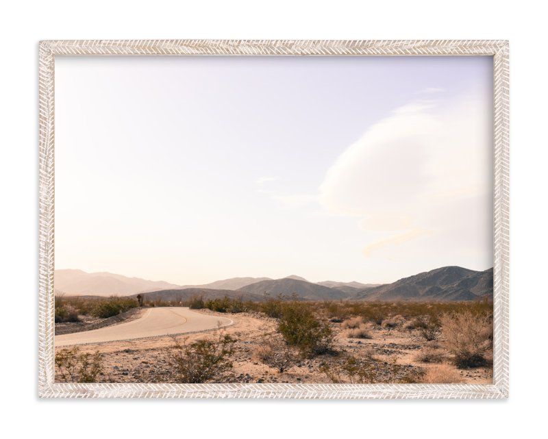 """""""Desert Road"""" - Art Print by Alexandra Nazari in beautiful frame options and a variety of sizes."""