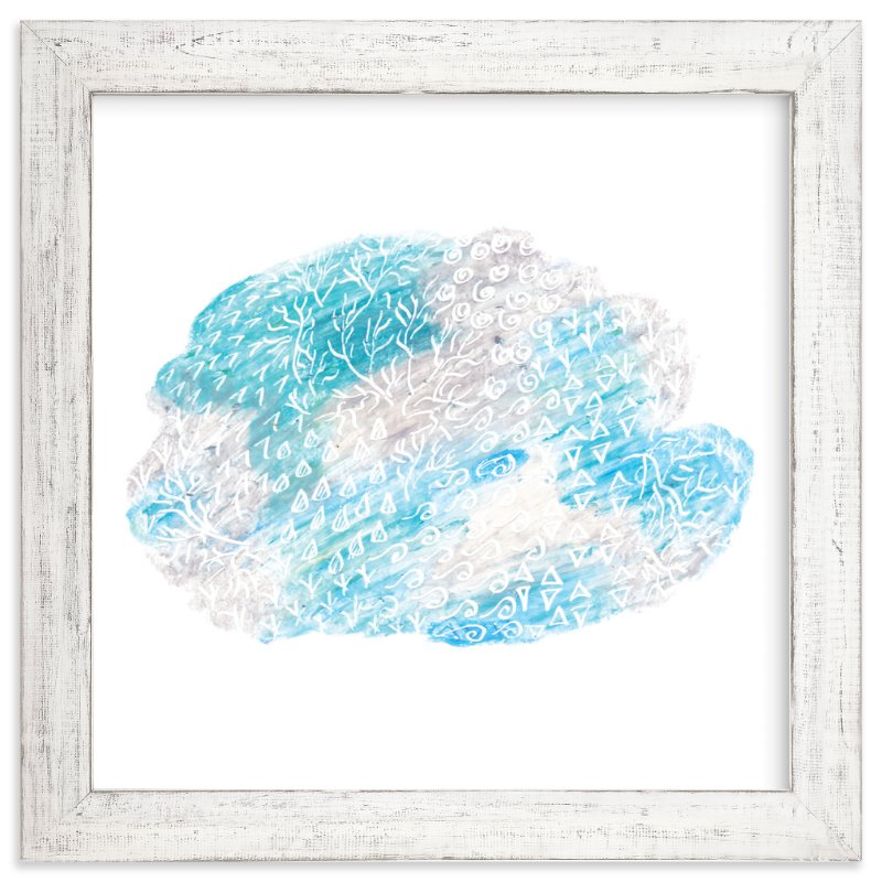 """""""Cloud"""" - Art Print by Kanika Mathur in beautiful frame options and a variety of sizes."""