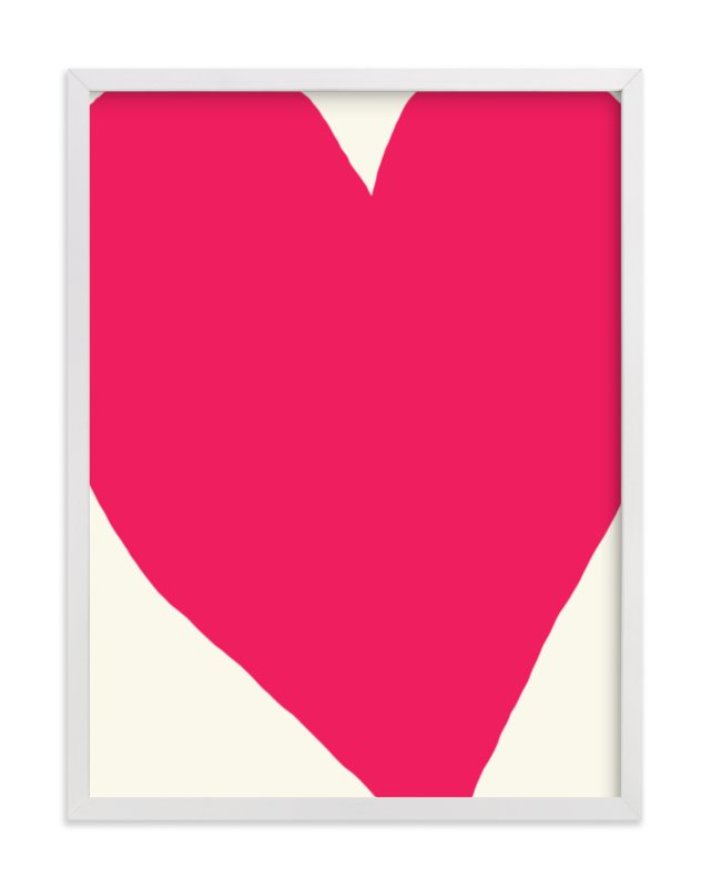 """Big Heart"" - Limited Edition Art Print by Jorey Hurley in beautiful frame options and a variety of sizes."