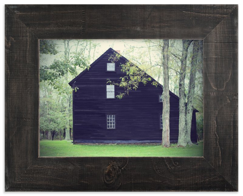 """""""House Among the Trees"""" - Art Print by Gray Star Design in beautiful frame options and a variety of sizes."""
