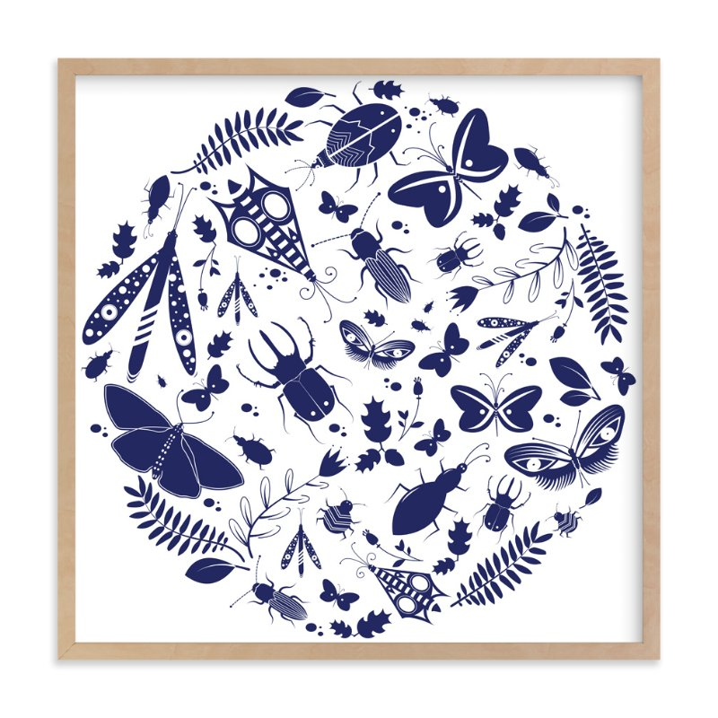 """Under The Microscope"" - Art Print by Kayla King in beautiful frame options and a variety of sizes."