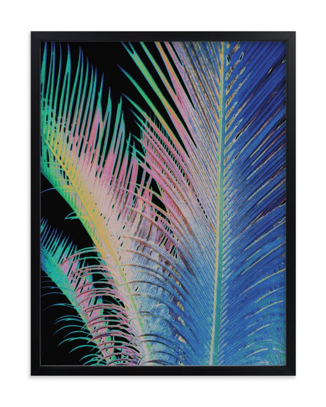 """Tropical"" - Limited Edition Art Print by Susanna Nousiainen in beautiful frame options and a variety of sizes."