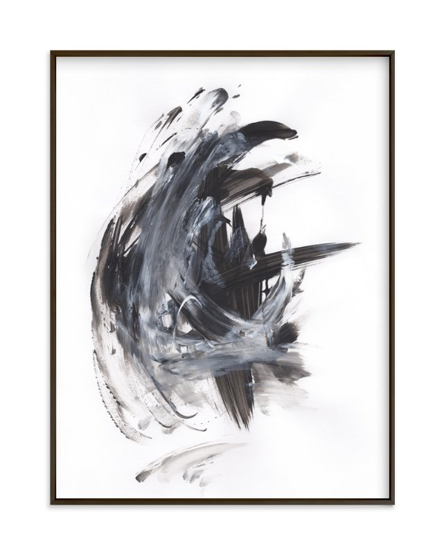 """""""Dark Melody"""" - Art Print by Misty Hughes in beautiful frame options and a variety of sizes."""