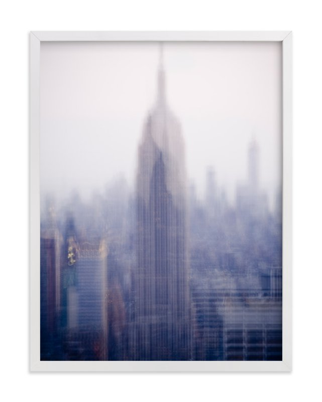 """empire state"" - Art Print by Kaitlin Rebesco in beautiful frame options and a variety of sizes."
