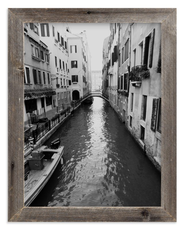 """""""Quiet Canal"""" - Art Print by Amanda Radziercz in beautiful frame options and a variety of sizes."""