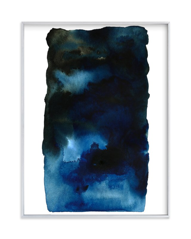 """Storm #2"" - Art Print by Belia Simm in beautiful frame options and a variety of sizes."