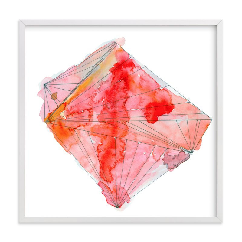 """""""ruby"""" - Art Print by Naomi Ernest in beautiful frame options and a variety of sizes."""
