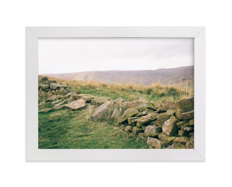 """Peak District No. 1"" - Art Print by lulu and isabelle in beautiful frame options and a variety of sizes."