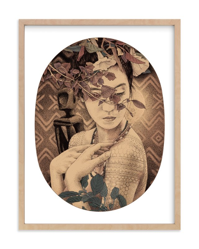 """Diwata 1"" - Limited Edition Art Print by Paper Planes in beautiful frame options and a variety of sizes."