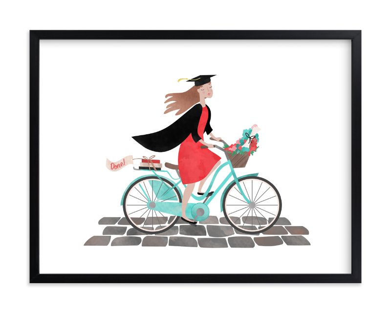 """""""Done!"""" - Limited Edition Art Print by Alisa Hall in beautiful frame options and a variety of sizes."""