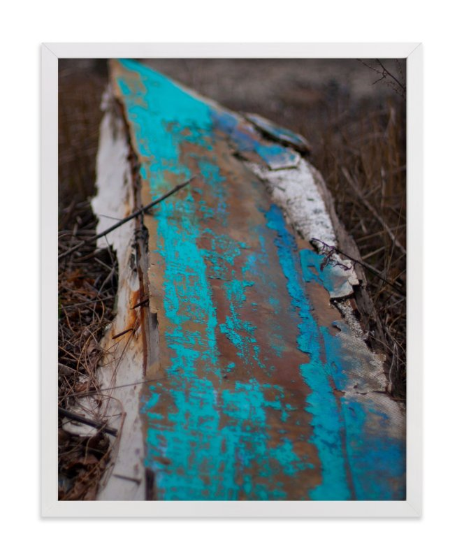 """""""Distressed Under The Tobin"""" - Art Print by That Girl Studio in beautiful frame options and a variety of sizes."""