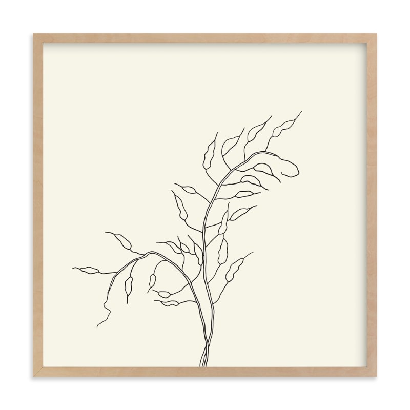 """Wild Radish"" - Art Print by Jorey Hurley in beautiful frame options and a variety of sizes."