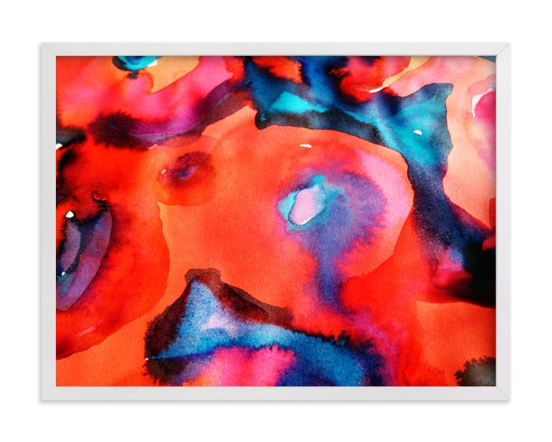 """Colourburst10"" - Art Print by Miranda Mol in beautiful frame options and a variety of sizes."