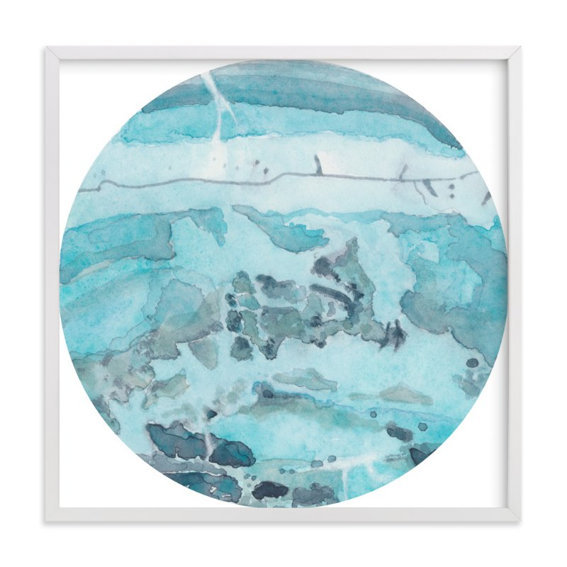 """Mineral 04"" - Art Print by Lily Hanna in beautiful frame options and a variety of sizes."