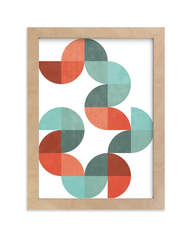 """""""Division Series 01"""" - Art Print by Jennifer Morehead in beautiful frame options and a variety of sizes."""