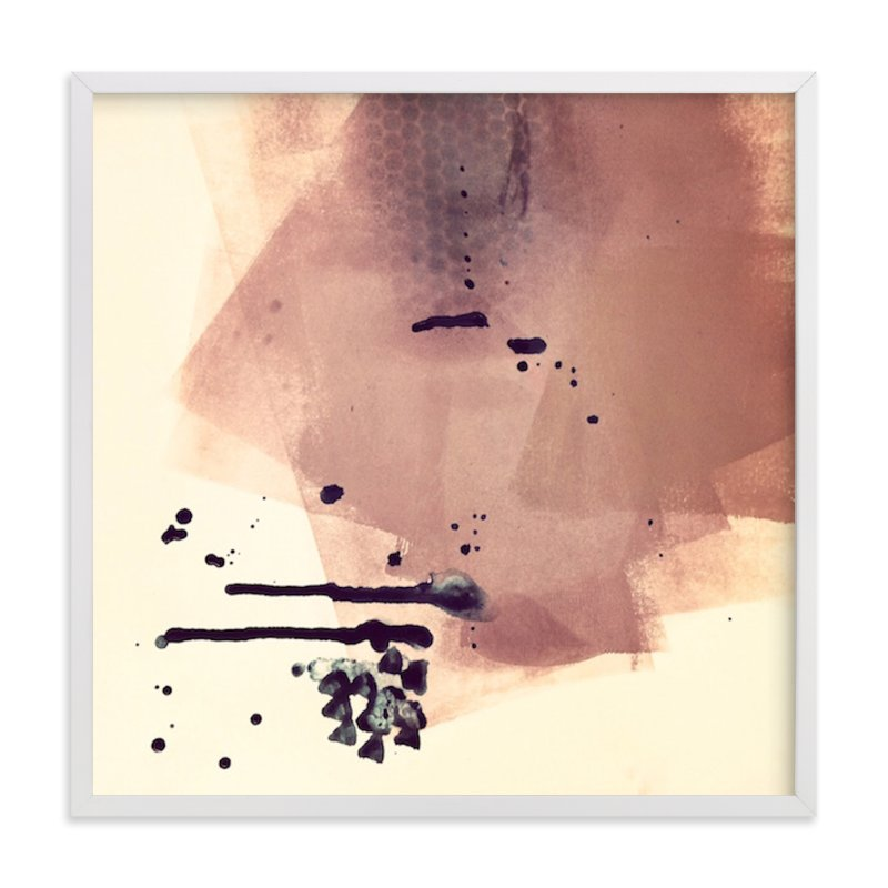 """""""There's A Lot Going On Underneath"""" - Art Print by Lauren Packard in beautiful frame options and a variety of sizes."""