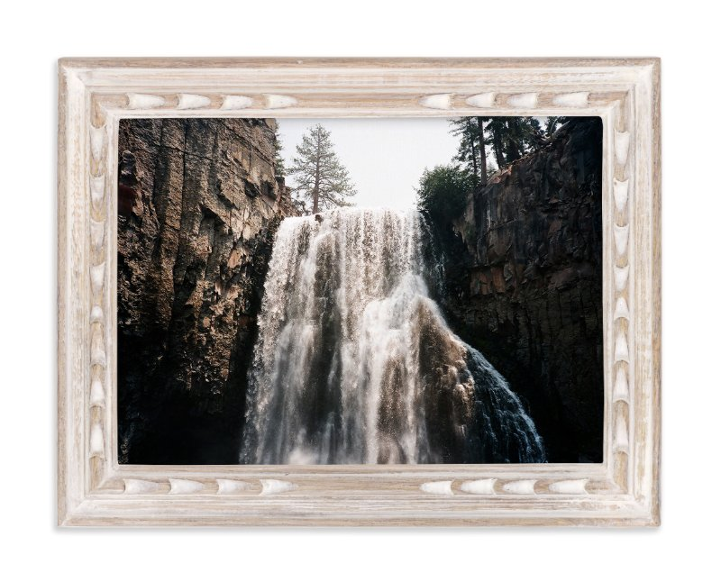 """Dreamy Falls"" - Art Print by Cade Cahalan in beautiful frame options and a variety of sizes."