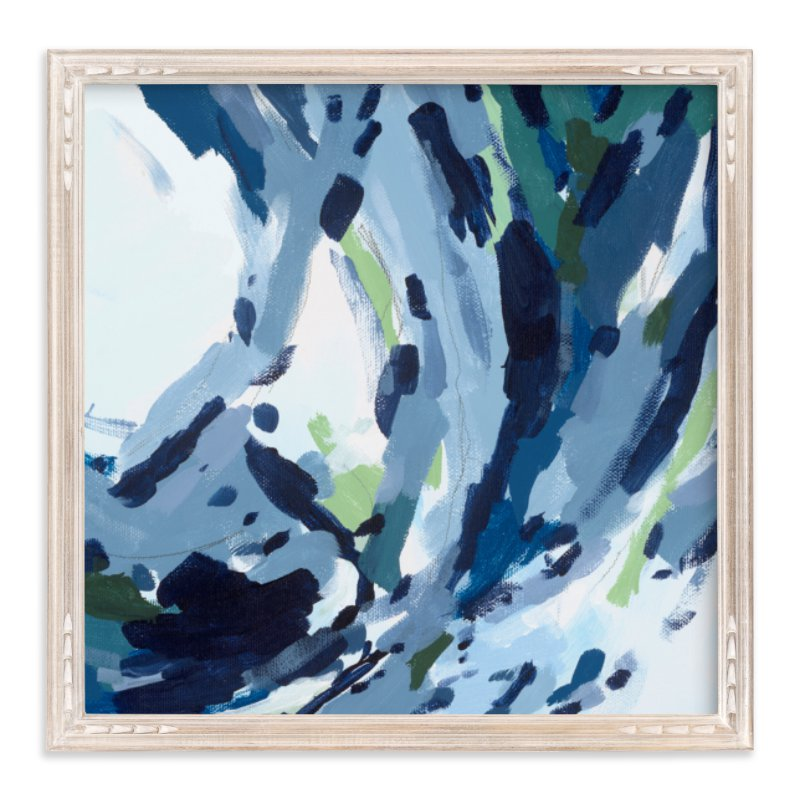 """Verdant Wave "" - Art Print by Katie Craig in beautiful frame options and a variety of sizes."