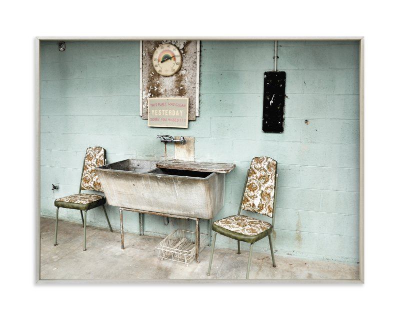 """""""this place was clean"""" - Art Print by Kristin Chapman in beautiful frame options and a variety of sizes."""