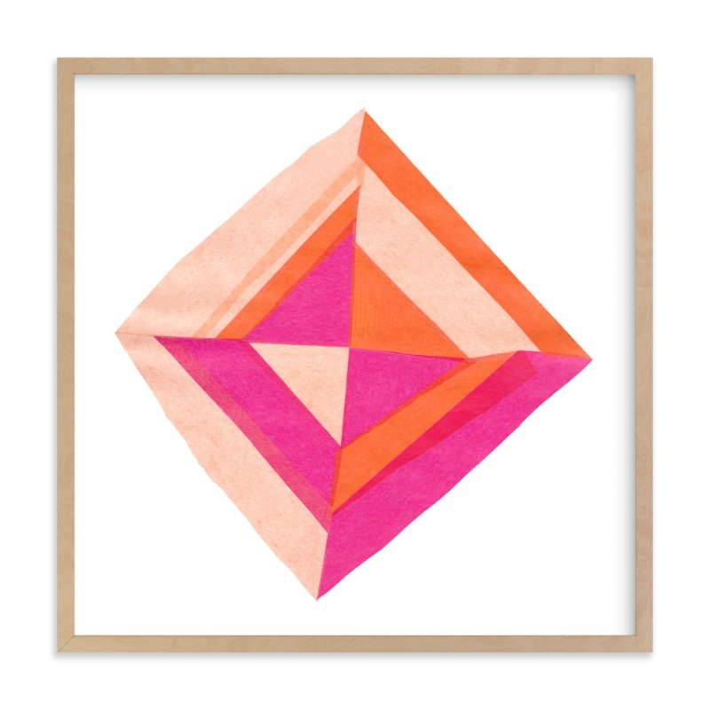 """""""Modern Patchwork"""" - Art Print by Kelly Nasuta in beautiful frame options and a variety of sizes."""