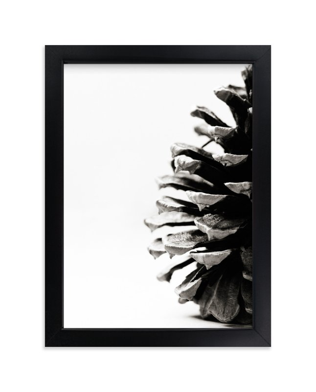 """""""Pine Cone"""" - Art Print by Alexis Arnold in beautiful frame options and a variety of sizes."""
