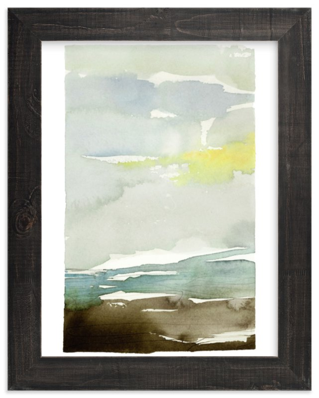 """Sunset Fade No 1"" - Art Print by Kelly Ventura in beautiful frame options and a variety of sizes."