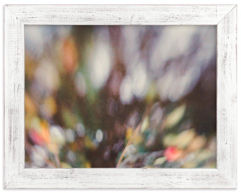 """Winter Bokeh"" - Art Print by Stacy Kron in beautiful frame options and a variety of sizes."