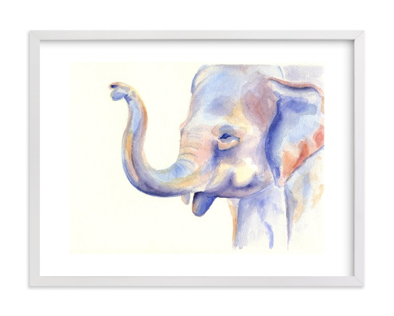 """""""Big and Little 2"""" - Limited Edition Art Print by Stacey Brod in beautiful frame options and a variety of sizes."""