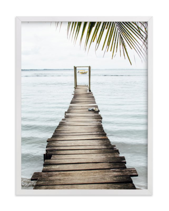 """bocas del toro"" - Art Print by Kaitlin Rebesco in beautiful frame options and a variety of sizes."