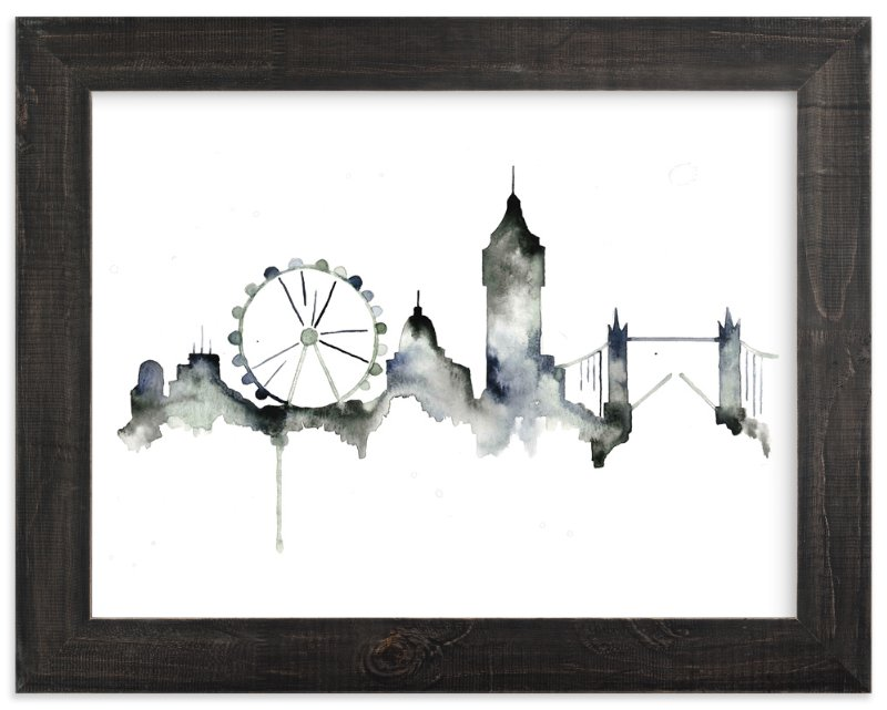 London Skyline Wall Art Prints By Kelsey McNatt | Minted