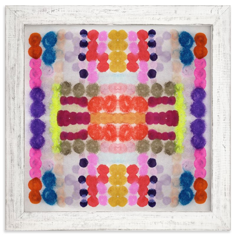 """Dippin Dot Squared No 3"" - Art Print by Kristi Kohut - HAPI ART AND PATTERN in beautiful frame options and a variety of sizes."