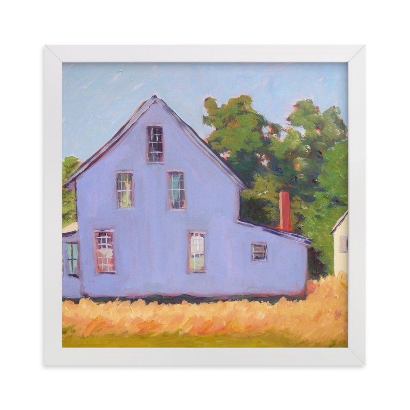 """""""Corner Farm House"""" - Art Print by Carol C. Young in beautiful frame options and a variety of sizes."""
