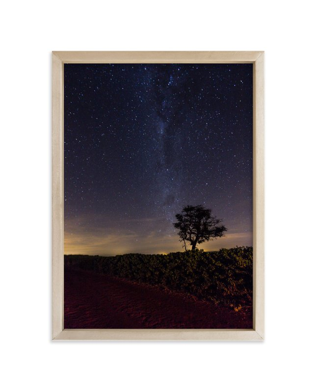 """""""Following the Milky Way"""" - Limited Edition Art Print by Sandro Portaluri in beautiful frame options and a variety of sizes."""