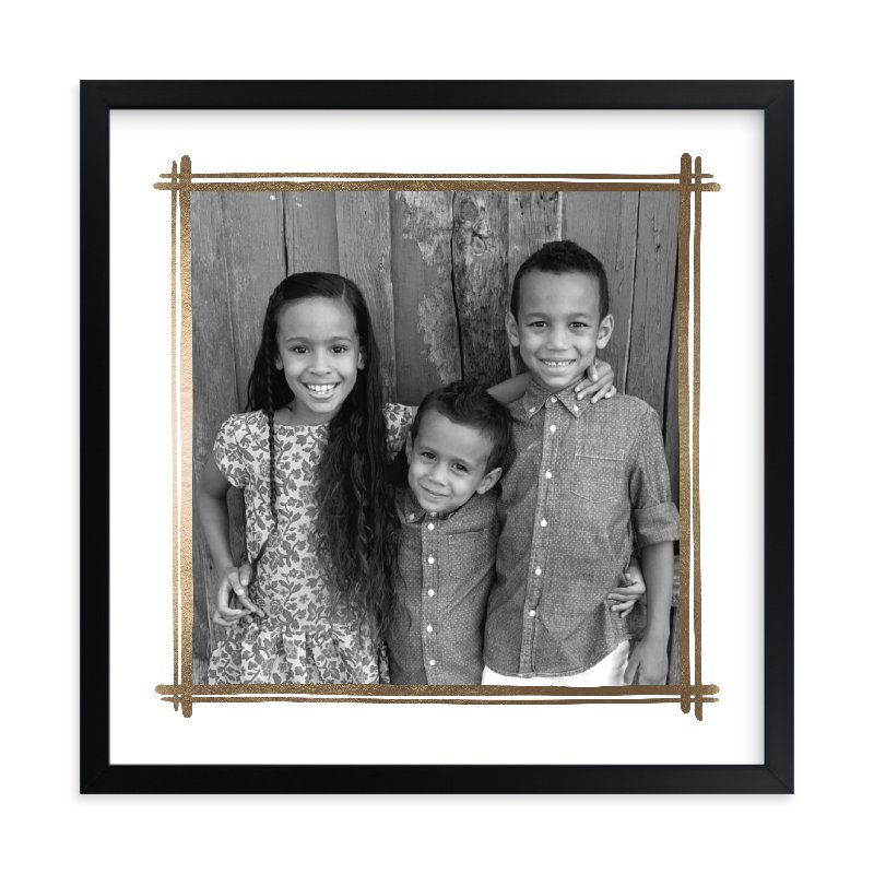 """Gilded"" - Foil Pressed Photo Art Print by Lisa Tamura Guerrero in beautiful frame options and a variety of sizes."