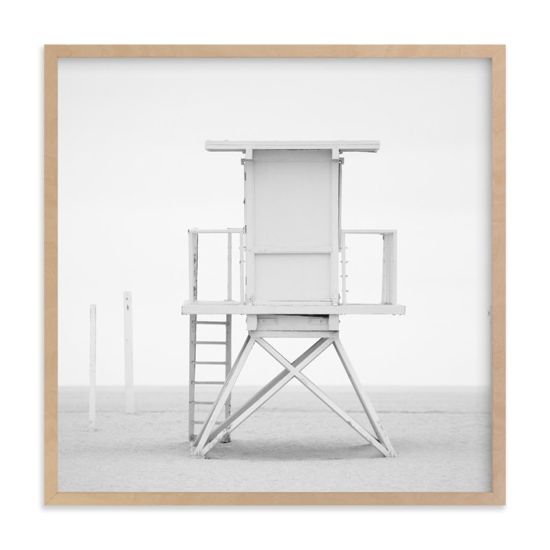 """Iconic Lifeguard tower"" - Limited Edition Art Print by Kate Houlihan Photography in beautiful frame options and a variety of sizes."