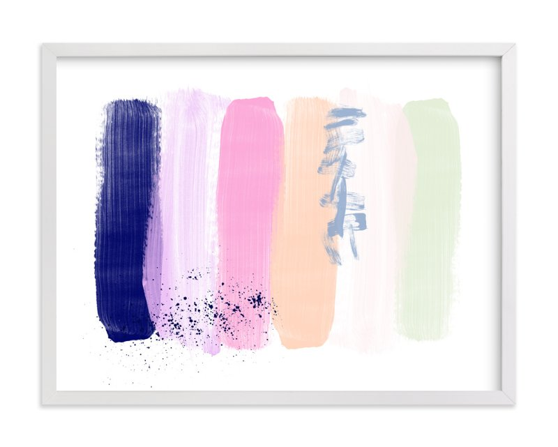 """""""Pinceladas """" - Art Print by Juliana Zimmermann in beautiful frame options and a variety of sizes."""