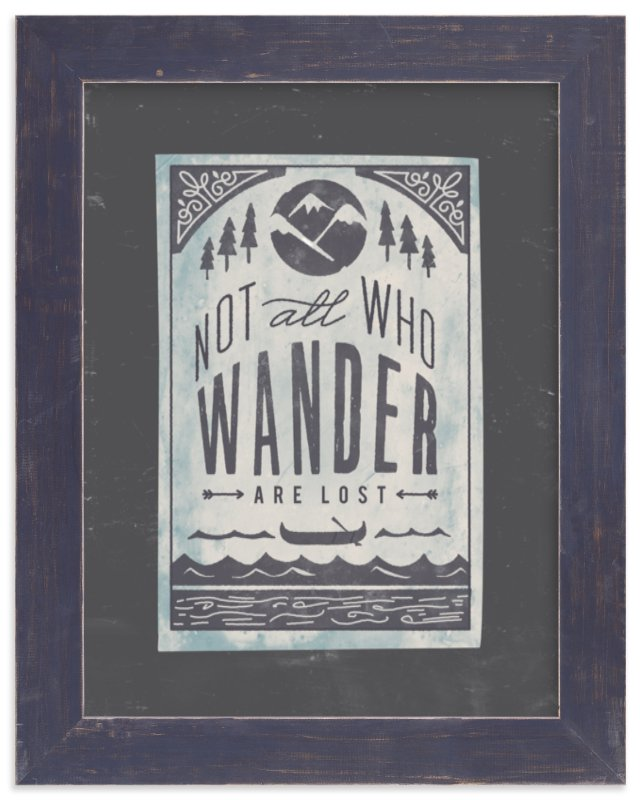 """""""Wander"""" - Art Print by Lori Wemple in beautiful frame options and a variety of sizes."""