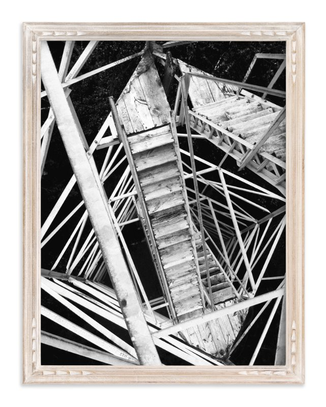 """""""Conquering Fear"""" - Art Print by Amy Gensmer in beautiful frame options and a variety of sizes."""
