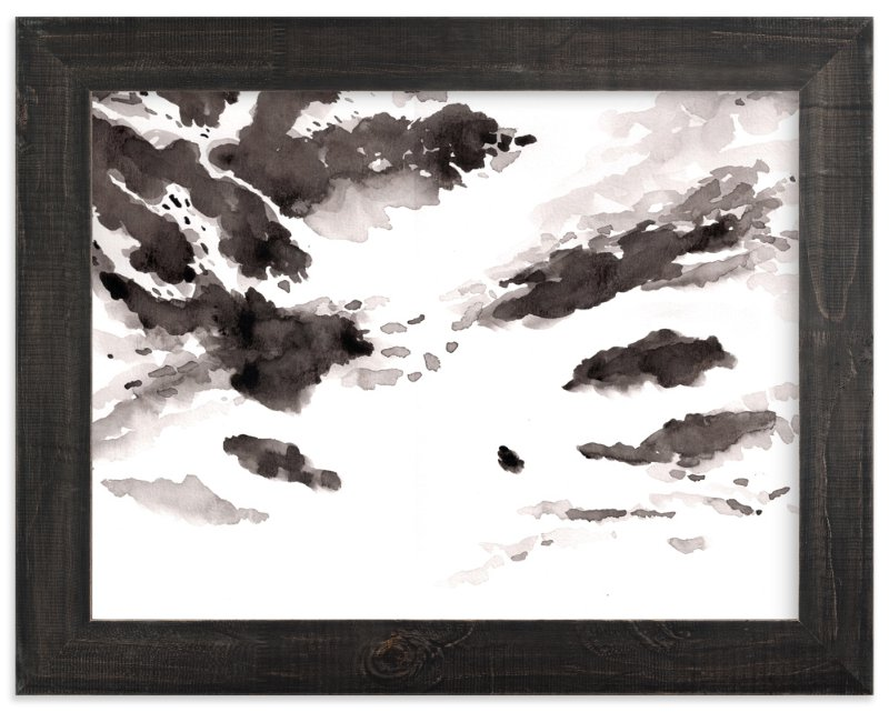 """clouds"" - Art Print by XL in beautiful frame options and a variety of sizes."